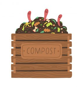 How to stop compost pile from smelling?